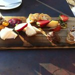 Cheeseboard from new Tidal restaurant