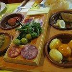 tapas platter to share