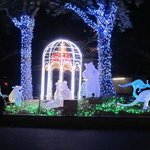 ueno park at night
