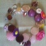 Quality Vintage Button Bracelets Individually Priced