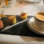 Mirabeau - Cafe gourmand with 3 mini dessert