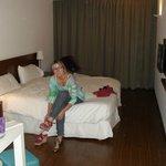 Cama maravilhosa e roupas de cama muito cheirosas!!!