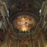 Afresco da abside da igreja