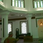 Within the prayer hall