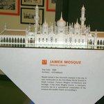 Scale model of Masjid Jamek at KL City Gallery