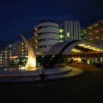 Hotel Paraiso, Albufeira at night