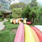 Kayaks at Los Elementos