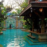 Peaceful Pool Area