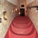 Escalier très particulier mais magnifique
