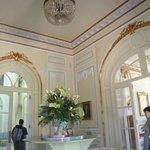 Uma das salas do castelo/hotel