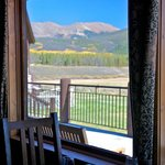 Views of the ranch and Continental Divide are interwoven into all the interior buidlings