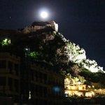 Madonna Rocca at night