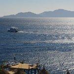 View of Tiran island