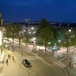 Night view to place Gambetta