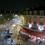View to place Gambetta, so there's traffic and bars, might be noisy in summer time