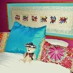 bequeme Betten und schöne Deko