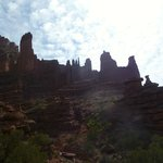 Fisher Towers Trail- just a few minutes down the road