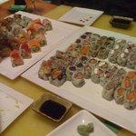 typical sushi visit 1