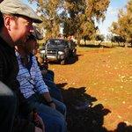 Con la Asoc. Cultural Taurina en una visita a los cercados de los Toros Bravos