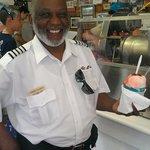 Our bus driver Vernon!