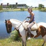paseo en caballo x el lugar