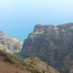 Nu'alolo lookout - Na Pali Coast