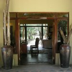 The entrance to Jock Safari Lodge
