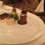 Vegetables and truffles