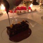 Chocolate with chocolate with chocolate