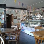 Inside the Cosy Tea Rooms