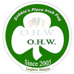 Debbie's Place Irish Pub Emblem