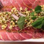 Unbelievable Tuna Carpaccio