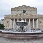 Moscou  Théâtre Bolshoi