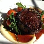 Filet of Sussex Beef with Portobello mushroom