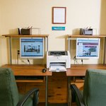 Our Business Center features computers available 24 hours a day