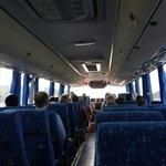 Bus for saona island!
