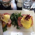 Marvellous eggs Benedict