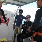 Last Minute instruction for Dive #2