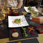 A tasting of starters