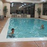 The indoor pool was nice