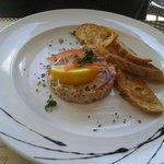 Rillettes de saumon maison