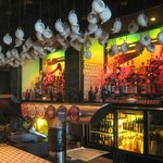 View of Bar... Teapots