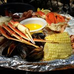 Captain Crabs Sampler for 2 could feed 3