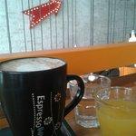 Café en la barra