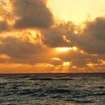 Sunrise at Sandys.