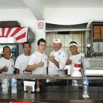 Cliff & staff