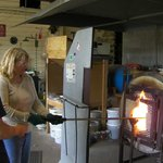 Heating the glass to make it workable (Hands On)