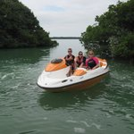 16 year old driving the Sea Doo Speedster.  Was GREAT!