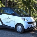 Smart cars are available for guests who fly into the island.