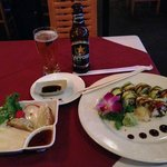 Excellent food - Dragon Rolls and Gyoza excellent!